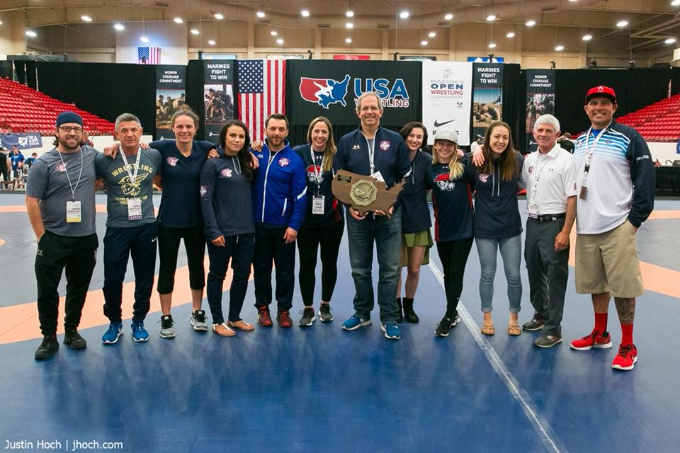 TMWC'S WOMEN'S FREESTYLE WINS 5TH STRAIGHT U.S. OPEN TITLE