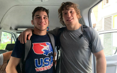Titan Mercury wrestlers Dieringer and Diakomihalis earn titles at Yasar Dogu, bringing total gold medal count to three