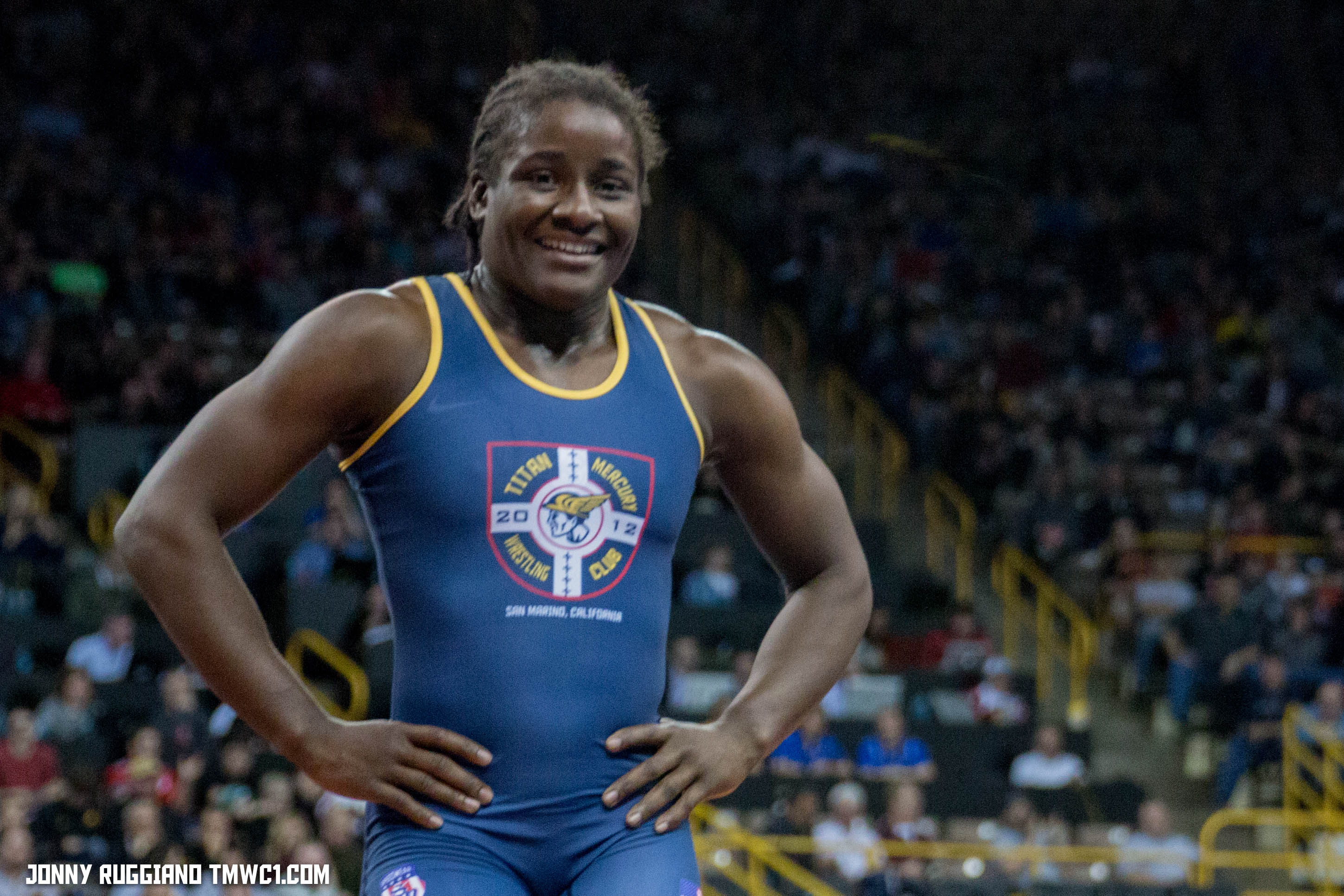 Mensah-Stock to go for gold at World Championships and qualifies her weight for Olympic Games