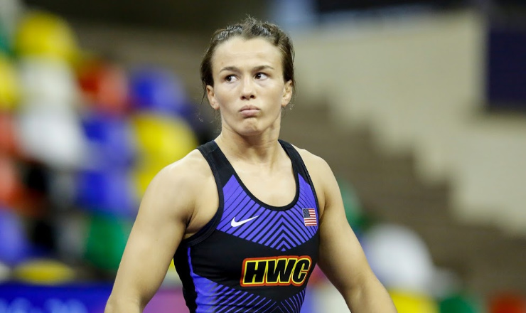 Gray, Molinari power to semifinals at World Championships; Gray qualifies her weight for Olympics